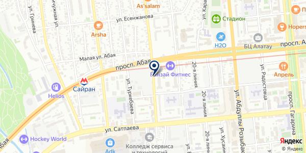 OSSTEM IMPLANT на карте Алматы