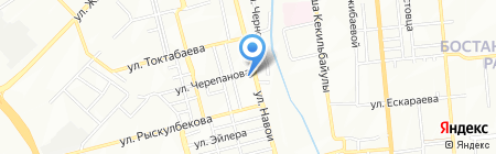 KEMA Trade на карте Алматы