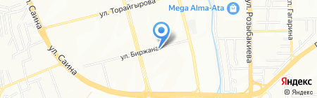 Ю-МЭ на карте Алматы