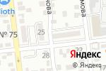 Схема проезда до компании Улан в Алматы