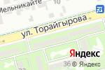 Схема проезда до компании IBC-IT-Казахстан в Алматы