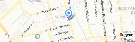 Алиф Tур на карте Алматы