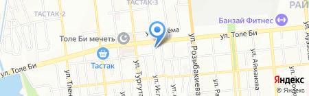 Бутик женской и мужской одежды на карте Алматы