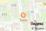 Схема проезда до компании TV SHOP Almaty в Алматы