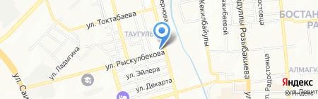 SAF-Tech Asia на карте Алматы