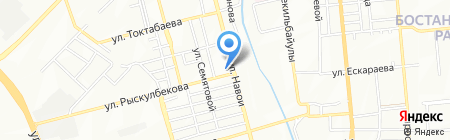 General TM на карте Алматы