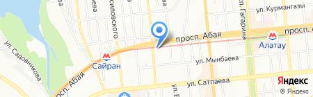Private Interia на карте Алматы