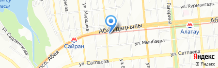 RVS на карте Алматы