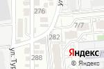 Схема проезда до компании TRV-Service в Алматы
