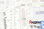 Схема проезда до компании Diamond Tours Kazakhstan в Алматы
