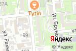 Схема проезда до компании GENERAL VIDEO SYSTEMS в Алматы