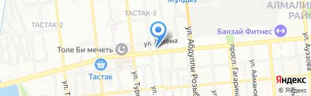 Электрокомплекс Азия на карте Алматы