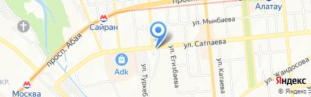 Давико-С на карте Алматы