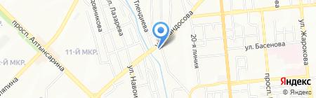 АвтоАдвокат на карте Алматы