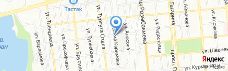 Айбар продуктовый магазин на карте Алматы