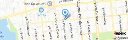 Жаксат продуктовый магазин на карте Алматы
