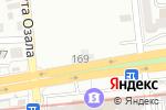 Схема проезда до компании Абсолют в Алматы