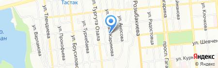 Дамхана на карте Алматы