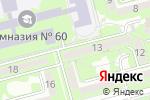 Схема проезда до компании Конкорд Экспресс в Алматы