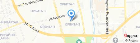Школа-гимназия №68 на карте Алматы