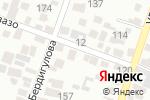 Схема проезда до компании АльДамиРам в Алматы