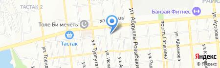 Участковый пункт полиции №22 Алмалинского района на карте Алматы