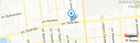 SESS на карте Алматы