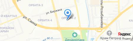 АКМиС на карте Алматы