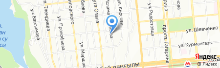 РОСА LTD на карте Алматы