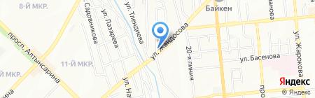 Юнилюкс на карте Алматы