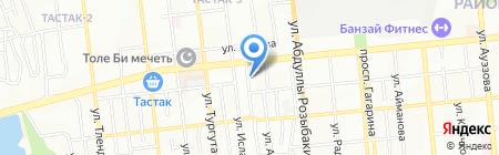 Субарик на карте Алматы
