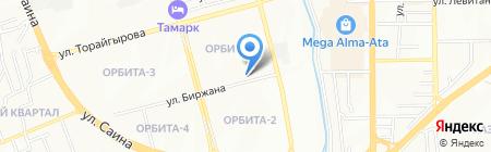 Ляззат продуктовый магазин на карте Алматы