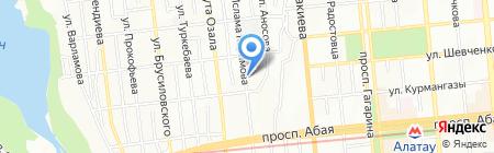 Бегемотик на карте Алматы
