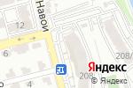 Схема проезда до компании Sheberinterior в Алматы