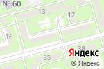 Схема проезда до компании Лязат в Алматы