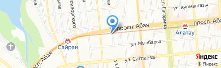Оптика Взгляд на карте Алматы