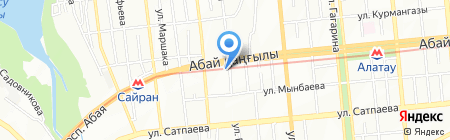 Геокурс на карте Алматы