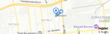 Авторская мастерская украшений Светланы Айвазовой на карте Алматы