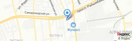 Auto Komfort на карте Алматы