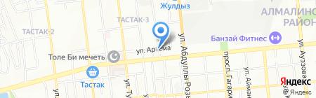 Магазин автохимии и автомасел на карте Алматы