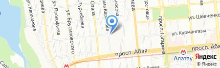 ЕвроСпецАрматура на карте Алматы