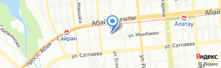 ASTRA на карте Алматы