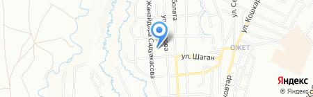 Общеобразовательная школа №156 на карте Алматы