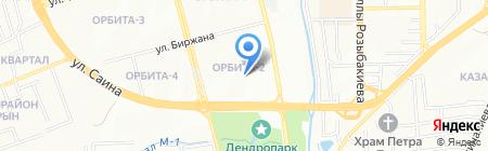 Бостандыкский районный суд по гражданским делам г. Алматы на карте Алматы
