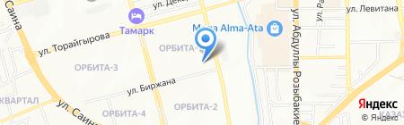 Soundpark на карте Алматы