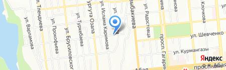 Оргилай на карте Алматы