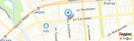 Fort Мебель на карте Алматы