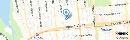 Источник жизни на карте Алматы