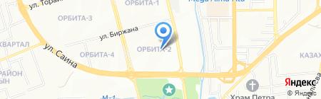 Специализированный межрайонный суд по уголовным делам г. Алматы на карте Алматы