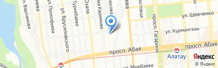 ABC-Express на карте Алматы